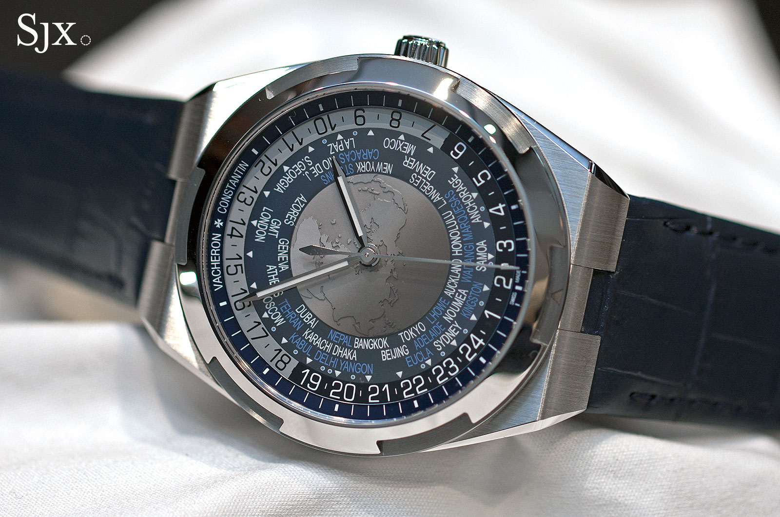 Vacheron Constantin Overseas World Time 7