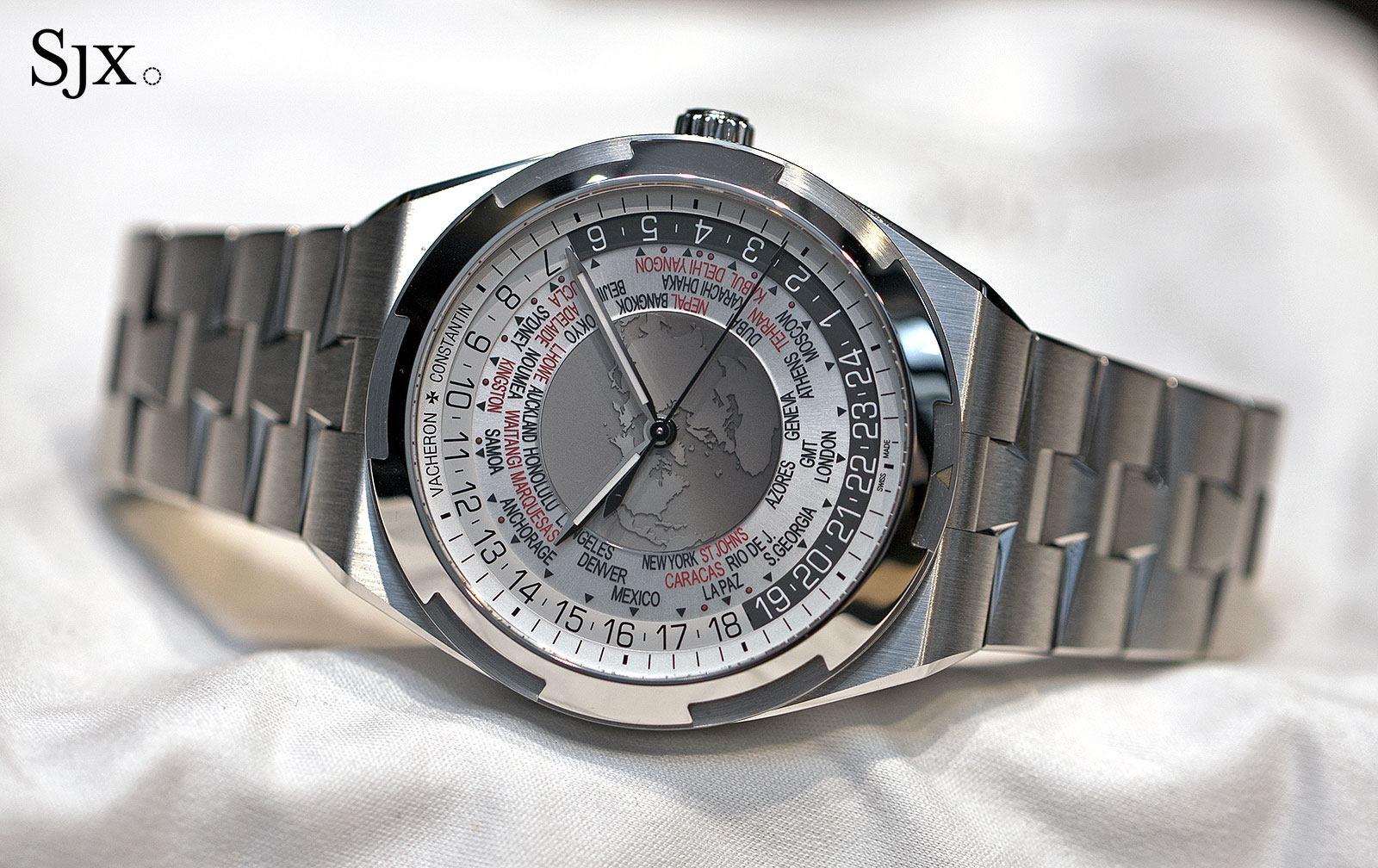 Vacheron Constantin Overseas World Time 8