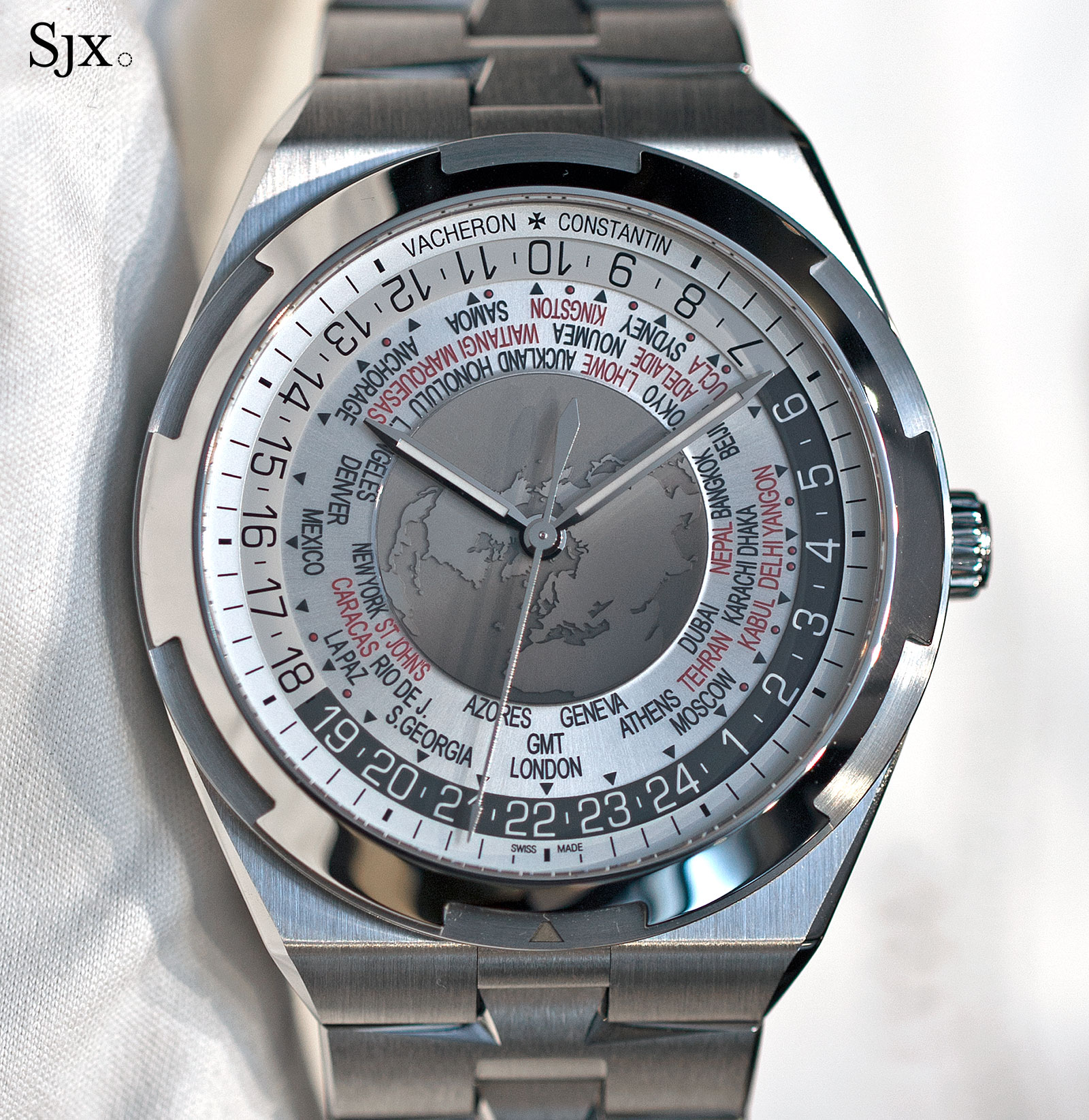 Vacheron Constantin Overseas World Time 9
