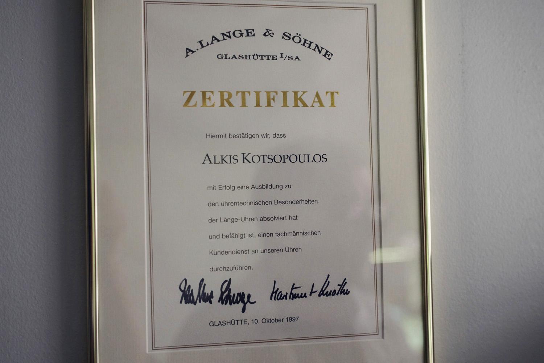 Alkis Kotsopoulos watchmaker 3