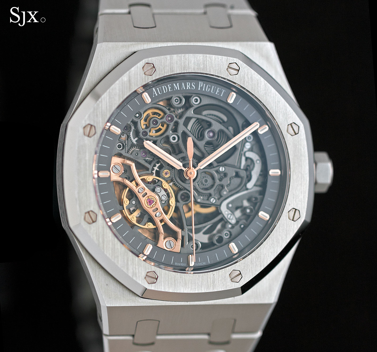Audemars Piguet Royal Oak Double Balance Wheel Openworked Steel 1