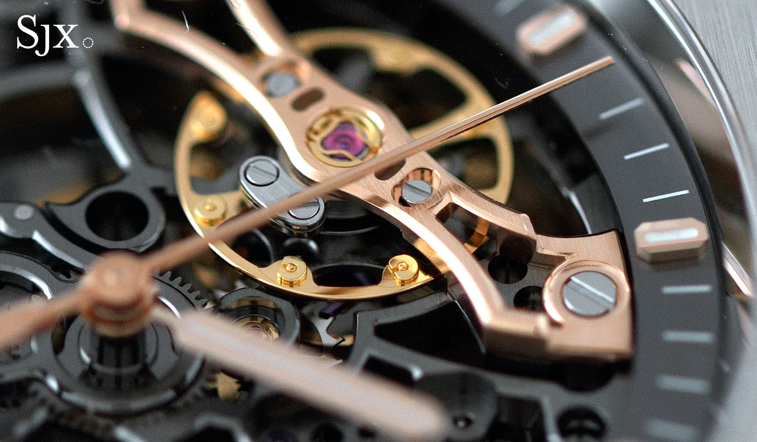 Audemars Piguet Royal Oak Double Balance Wheel Openworked pink gold 1
