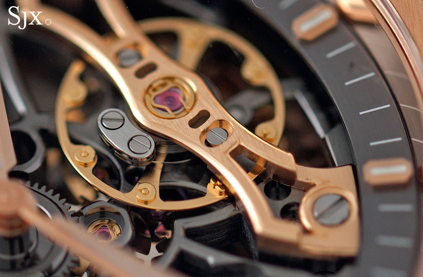 Audemars Piguet Royal Oak Double Balance Wheel Openworked pink gold 4