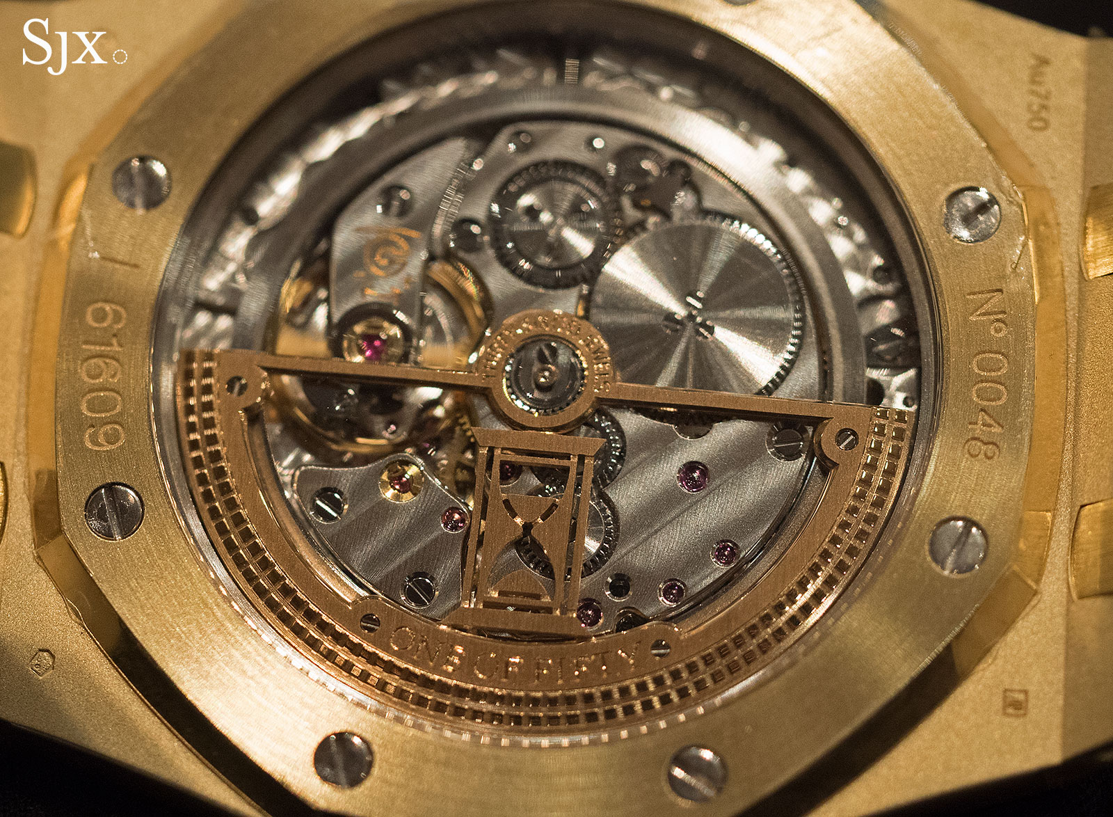 Audemars Piguet Royal Oak Extra-Thin The Hour Glass Yellow Gold 6