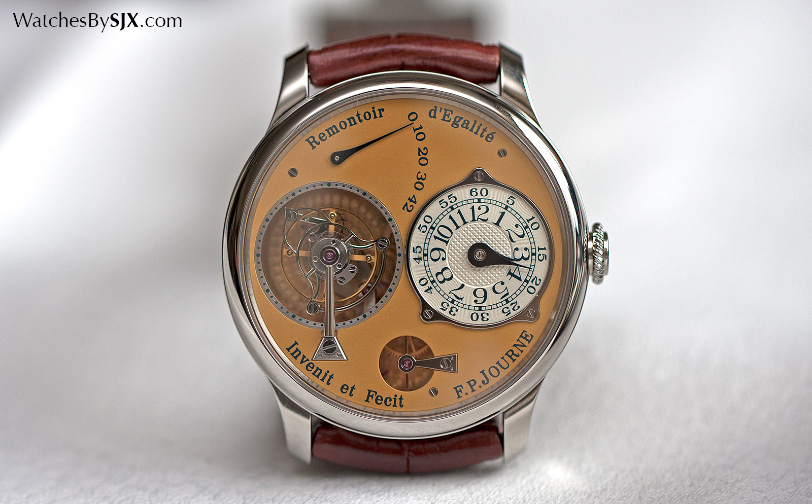 F.P. Journe Tourbillon steel 1