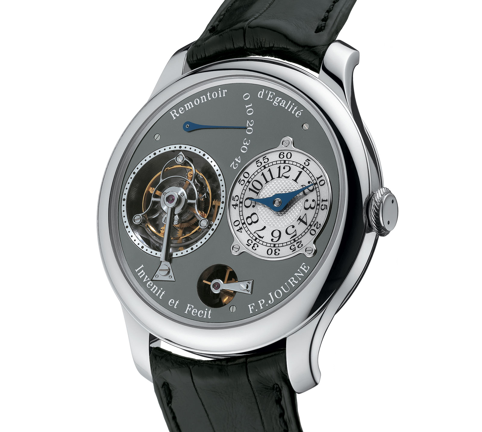 FP Journe Ruthenium Tourbillon Souverain