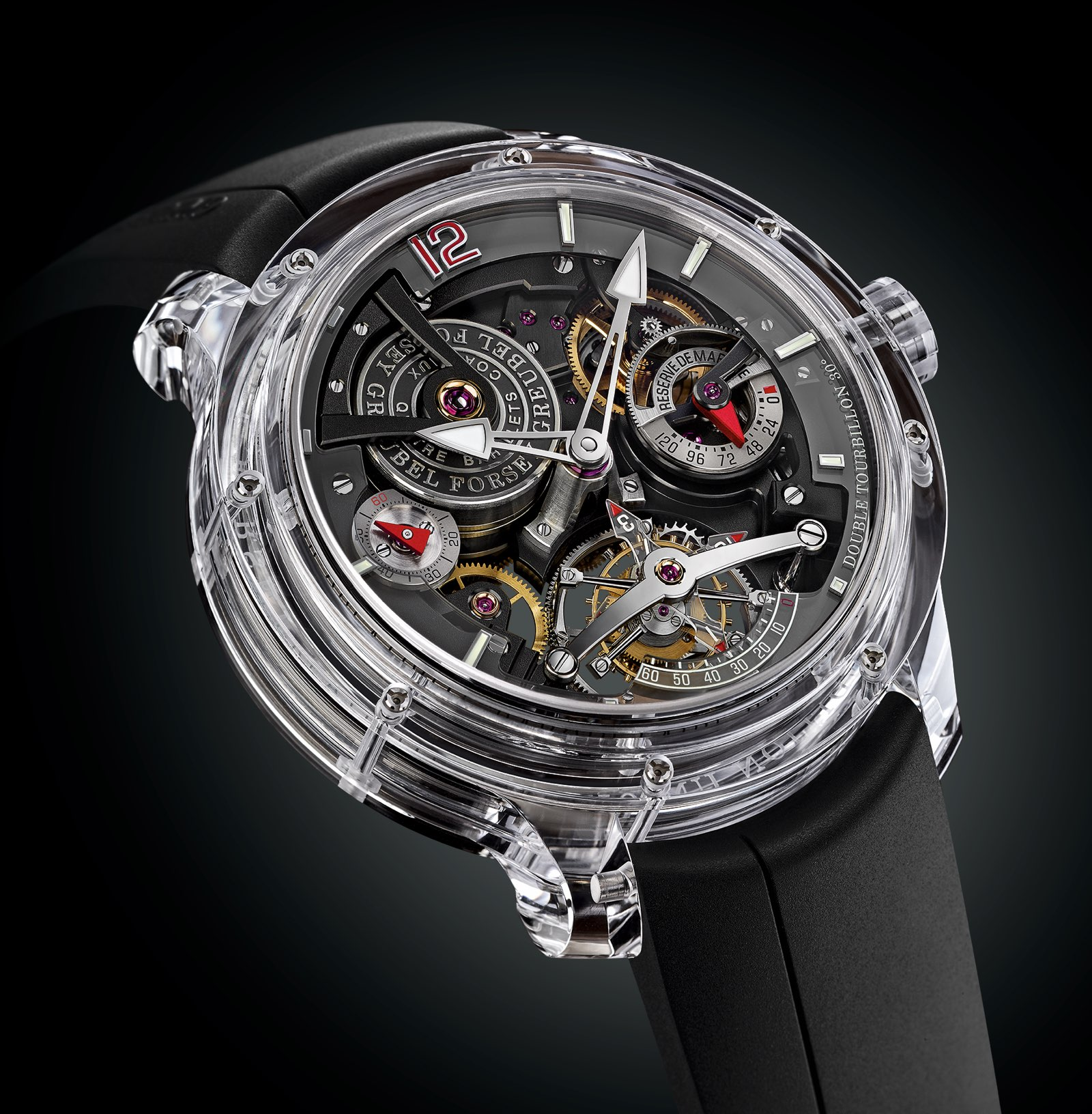 Greubel Forsey Double Tourbillon 30° Technique Sapphire 2