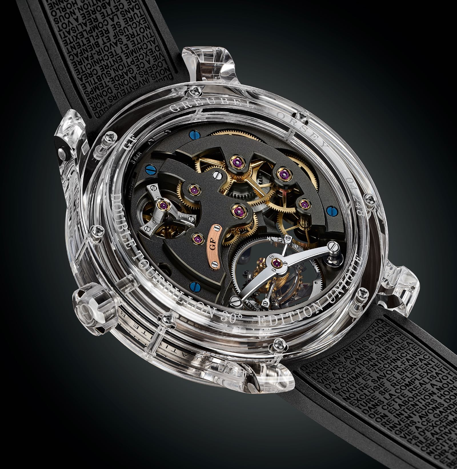 Greubel Forsey Double Tourbillon 30° Technique Sapphire 4