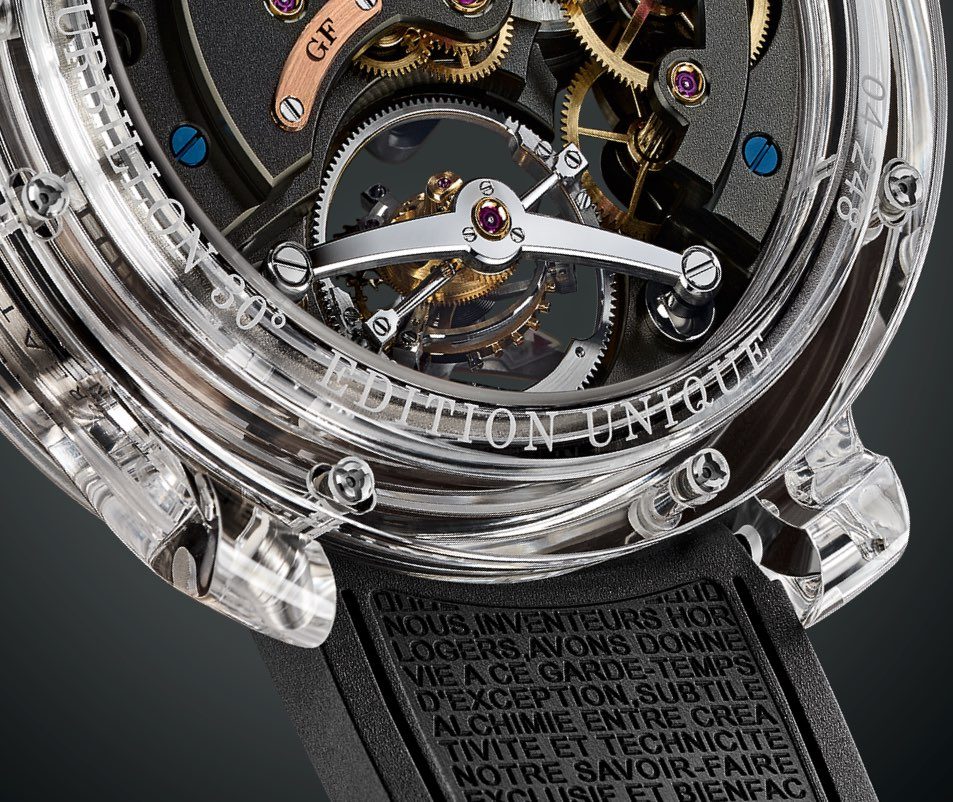 Greubel Forsey Double Tourbillon 30° Technique Sapphire 5