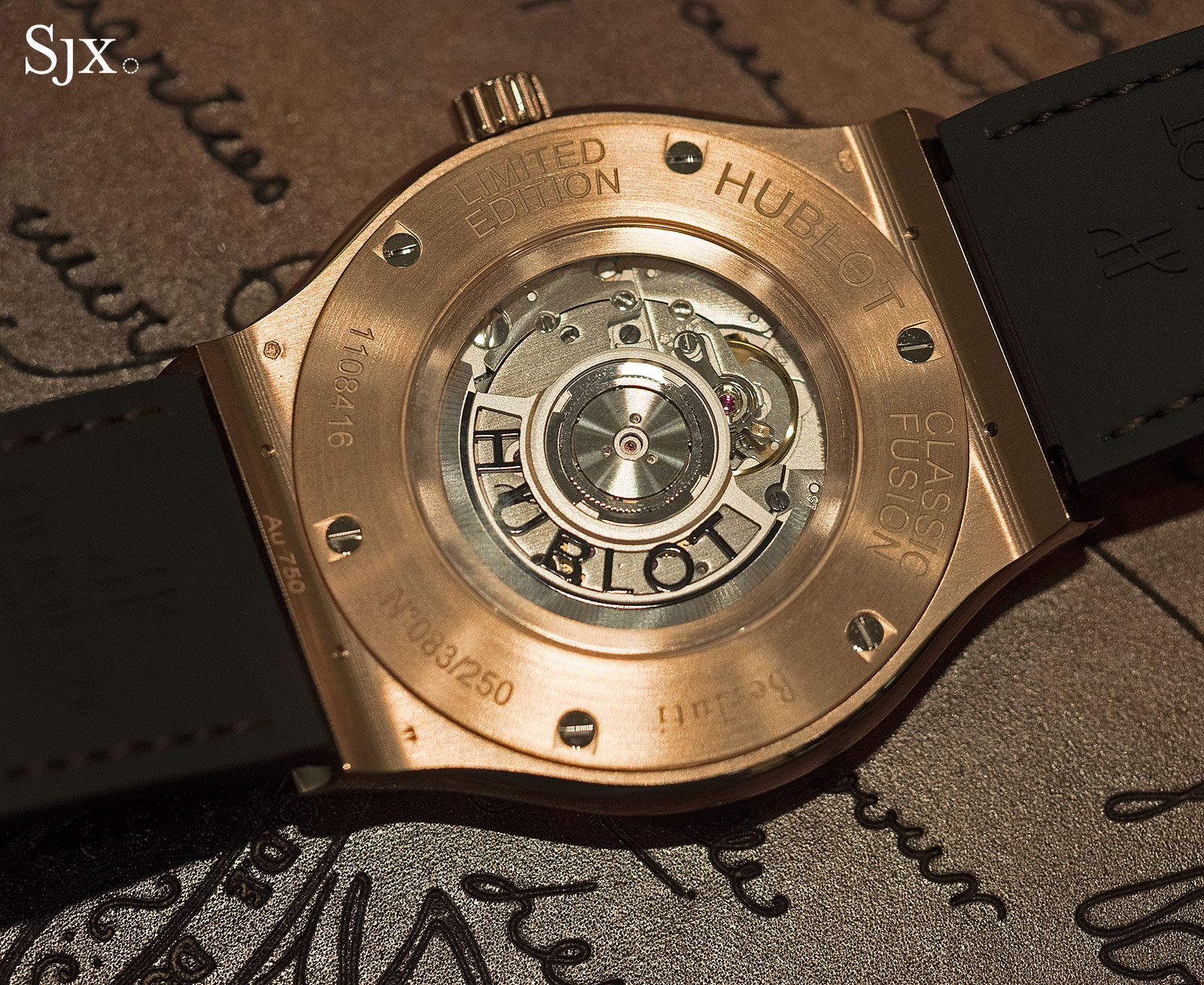 Hublot Classic Fusion Berluti Scritto gold 7