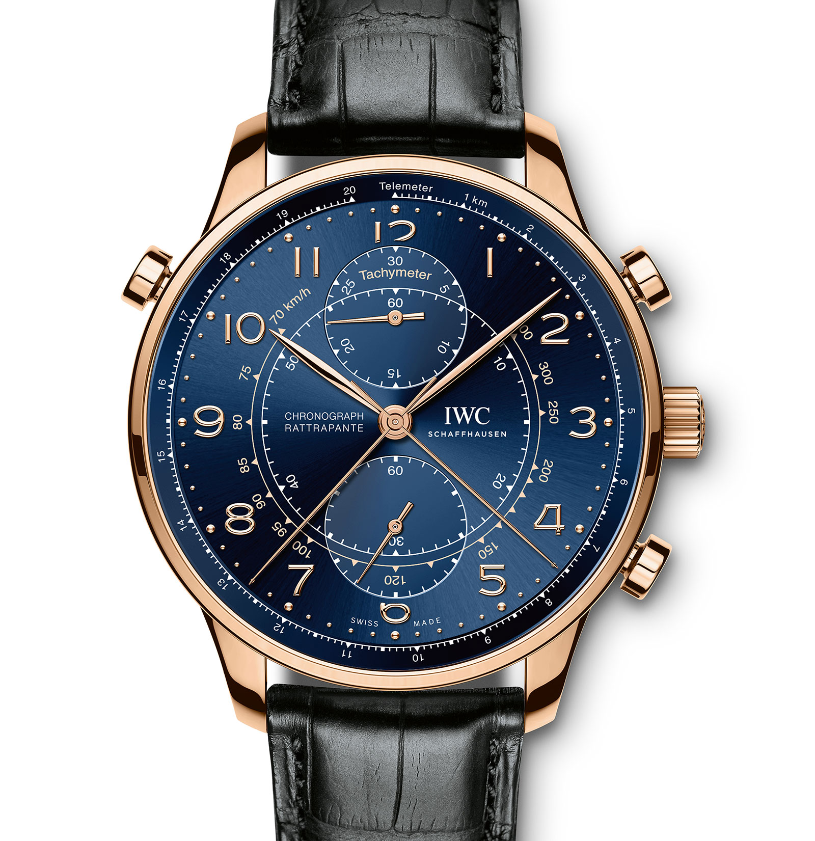 IWC Introduces the Portugieser Chronograph Rattrapante ...