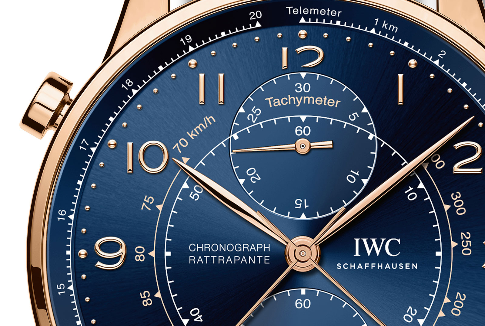IWC Portugieser Chronograph Rattrapante Milan Boutique 371215-3