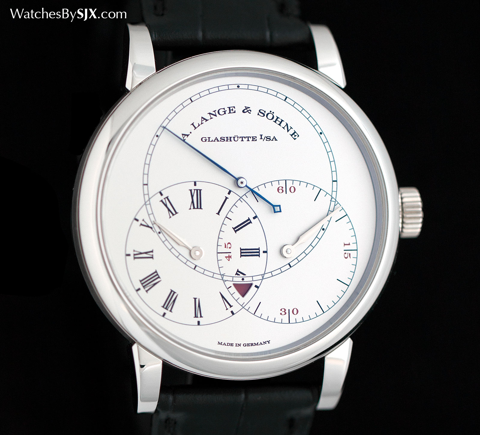 Lange Richard Lange Jumping Seconds platinum 1