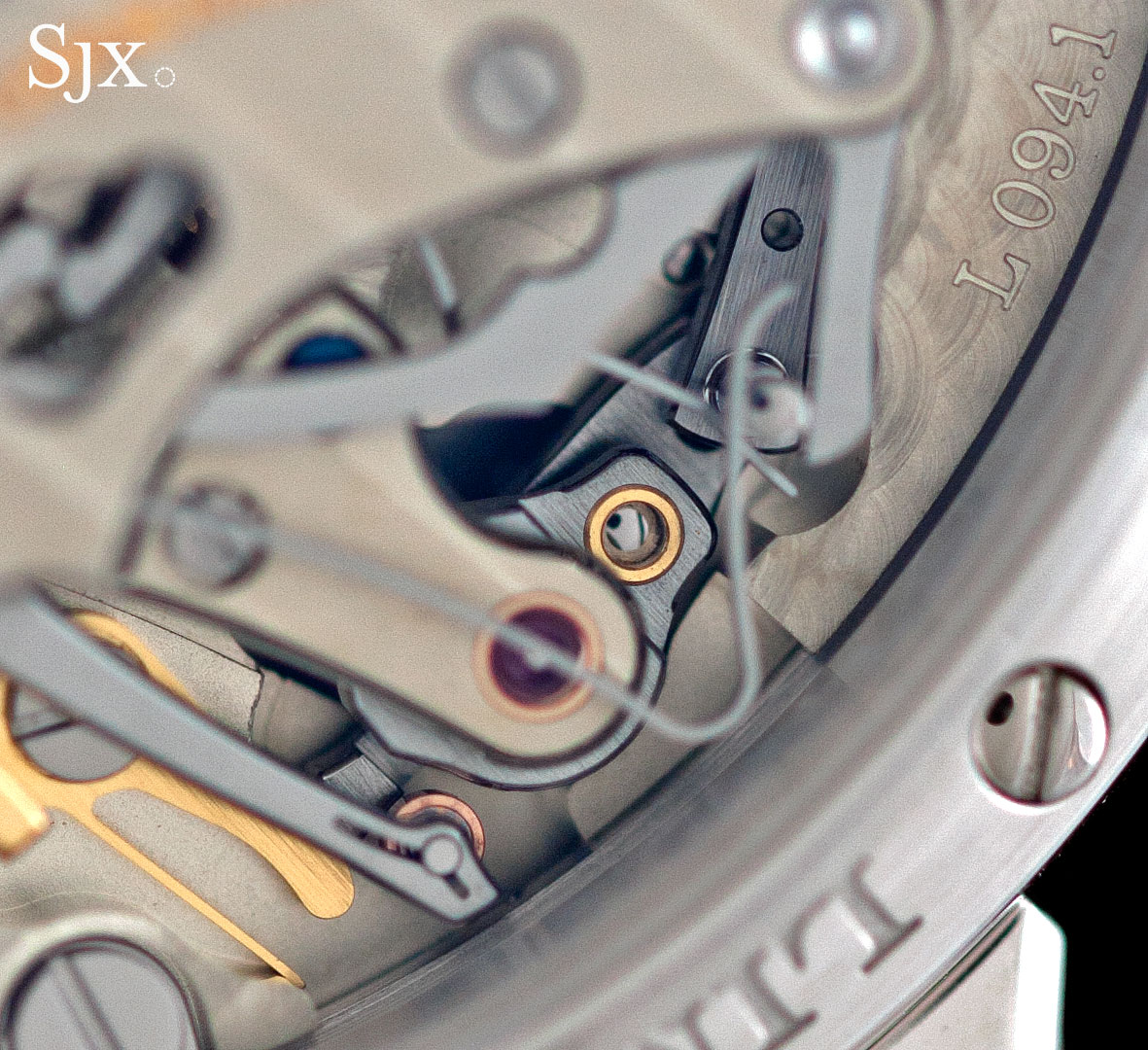 Lange Richard Lange Jumping Seconds platinum 10