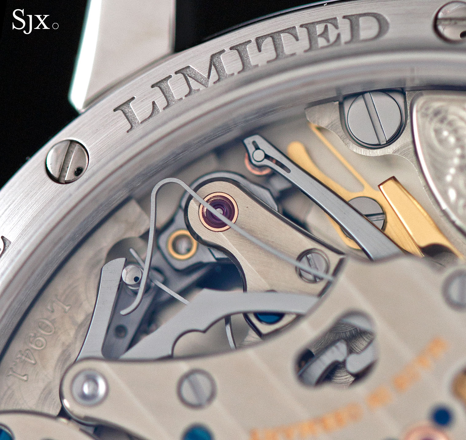 Lange Richard Lange Jumping Seconds platinum 11