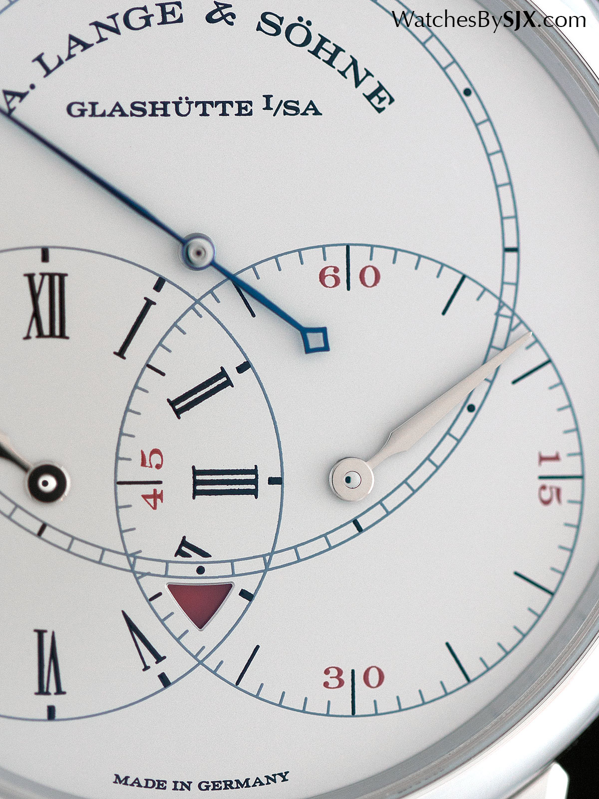 Lange Richard Lange Jumping Seconds platinum 2