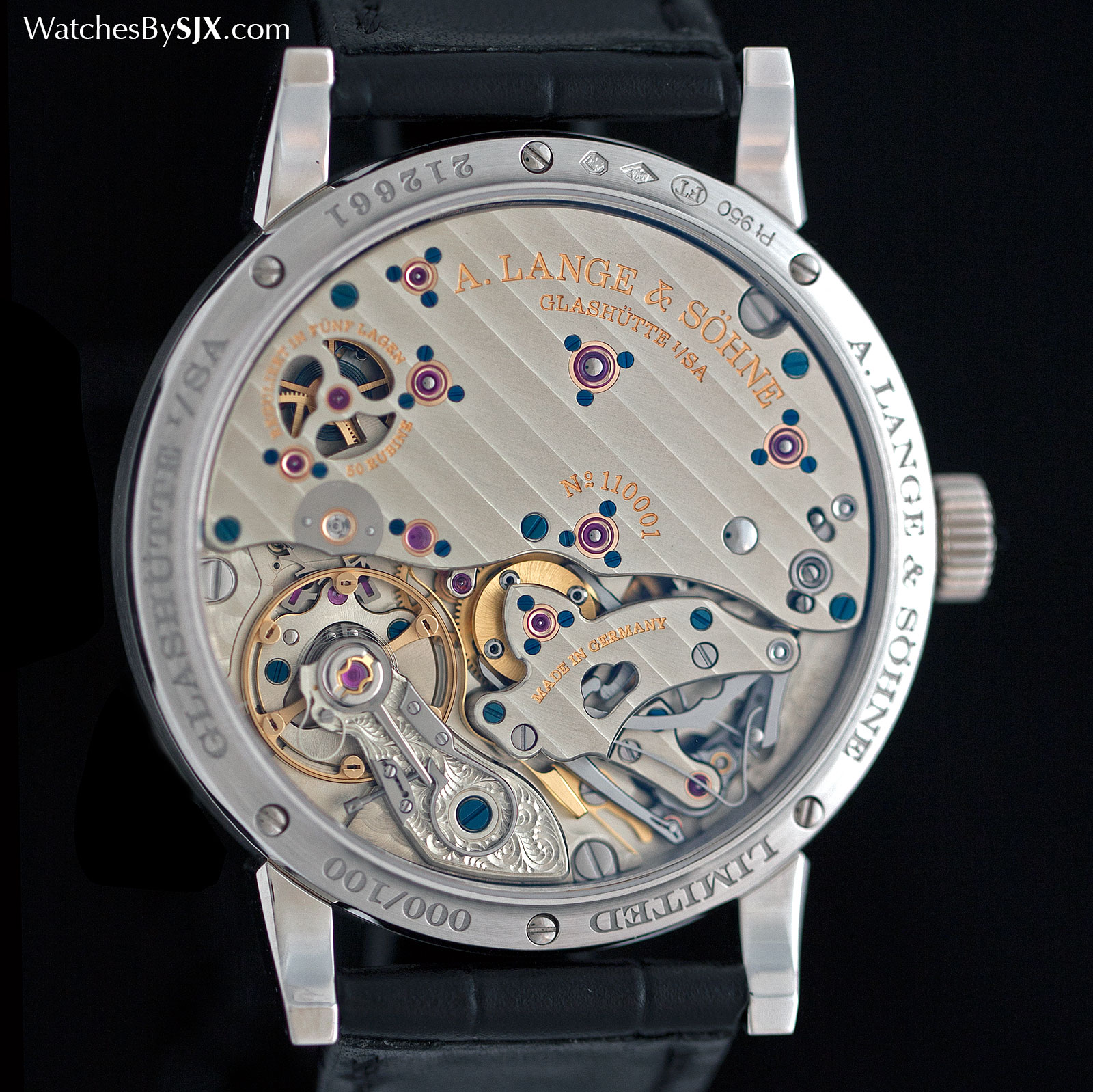 Lange Richard Lange Jumping Seconds platinum 3