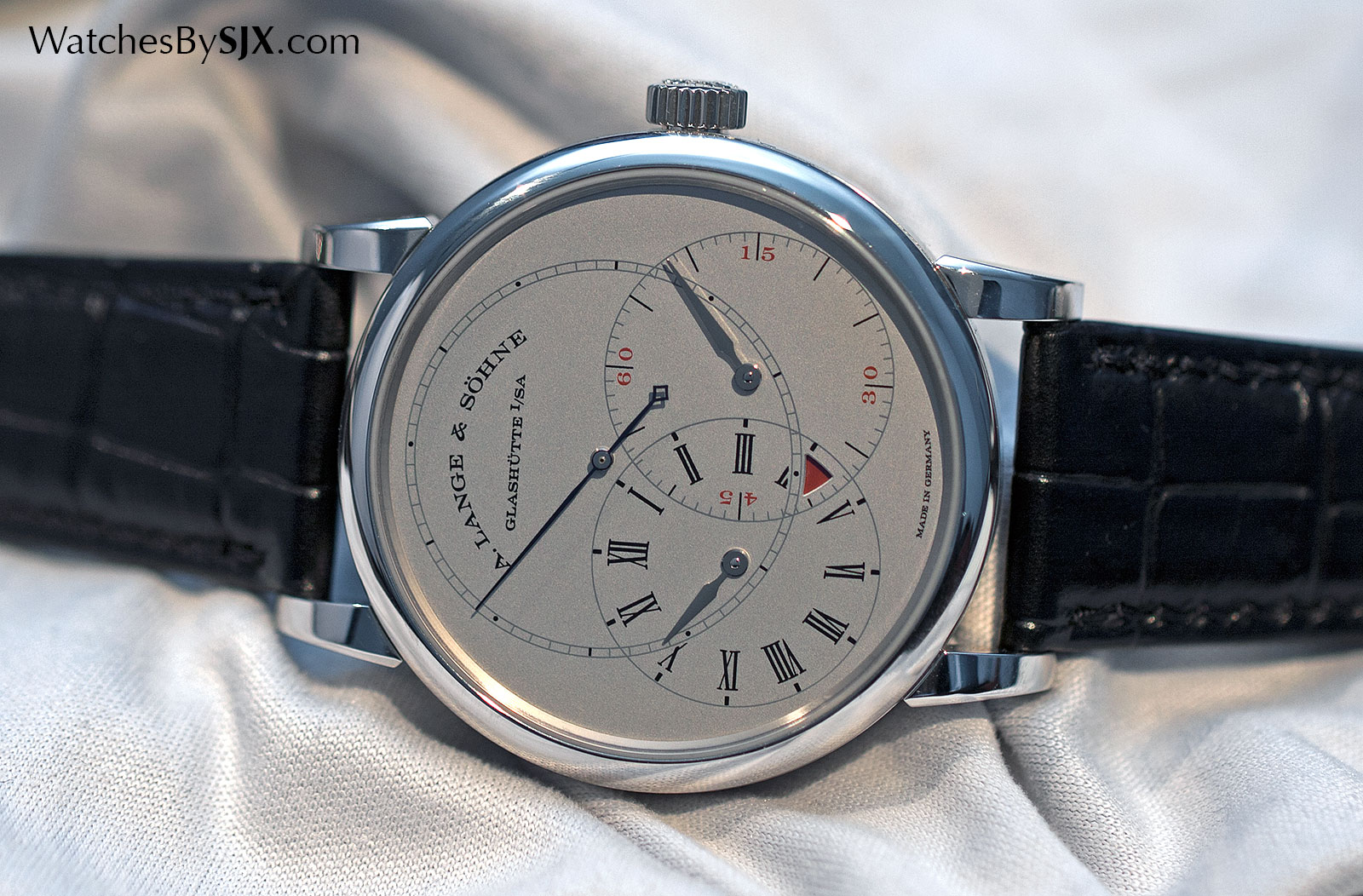 Lange Richard Lange Jumping Seconds platinum 4