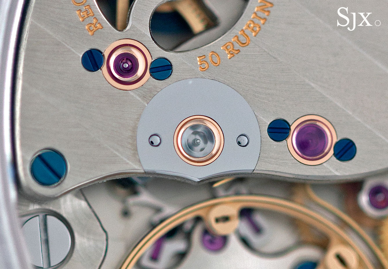 Lange Richard Lange Jumping Seconds platinum 6
