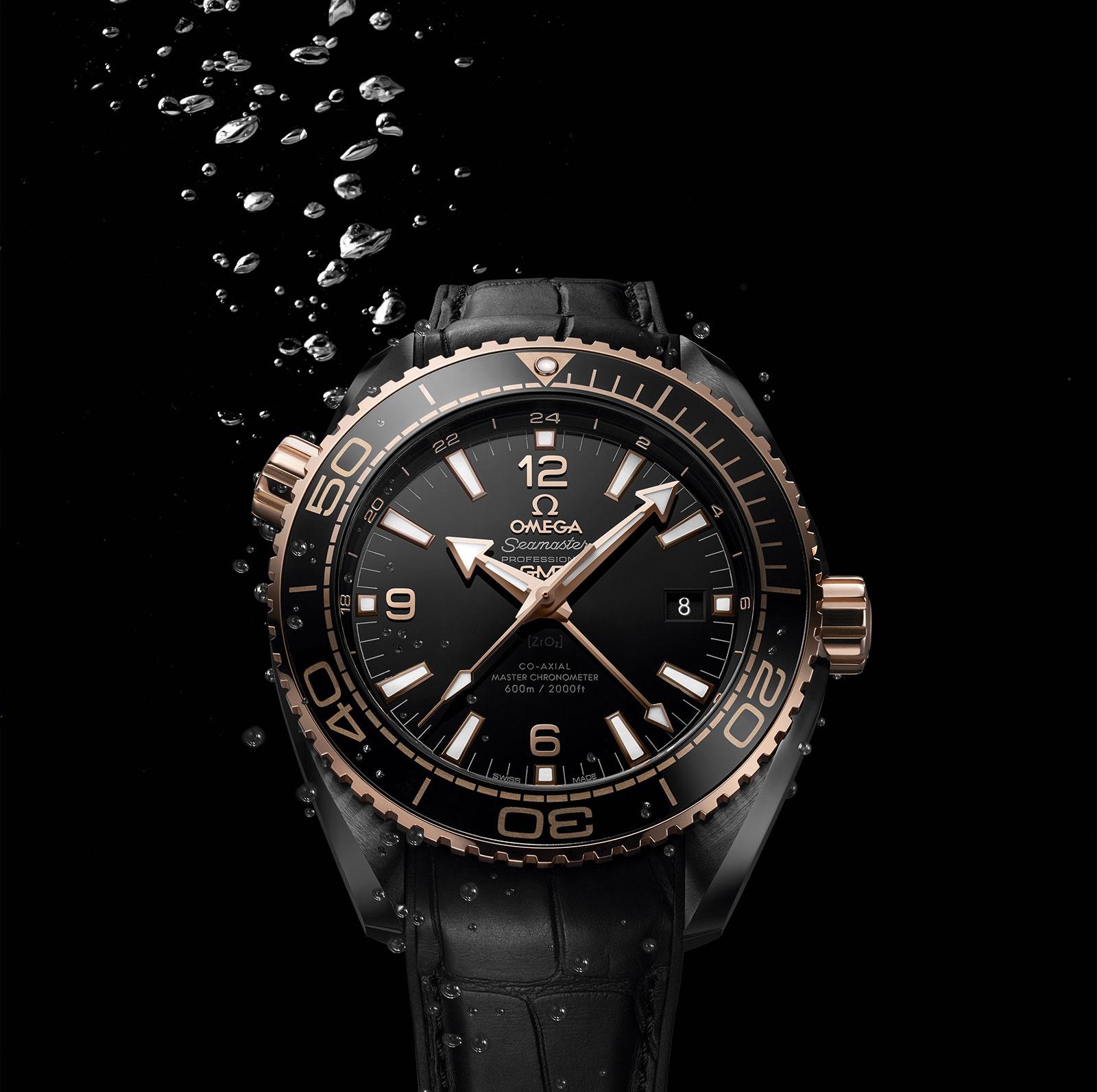 Omega Seamaster Planet Ocean Deep Black Ceramic 1
