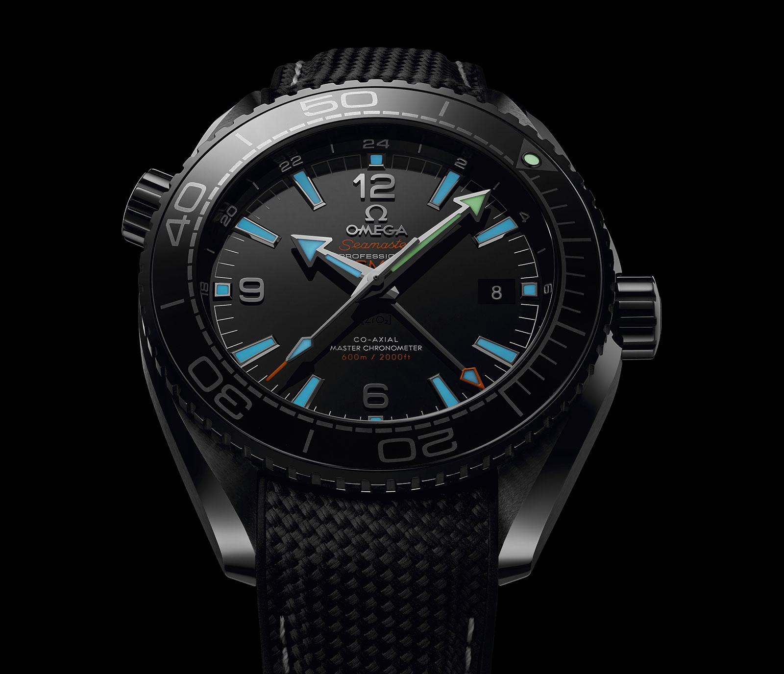 Omega Seamaster Planet Ocean Deep Black Ceramic 3