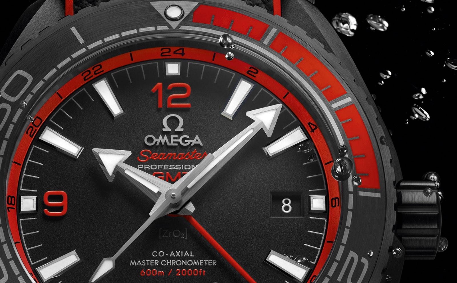 Omega Seamaster Planet Ocean Deep Black Ceramic 5