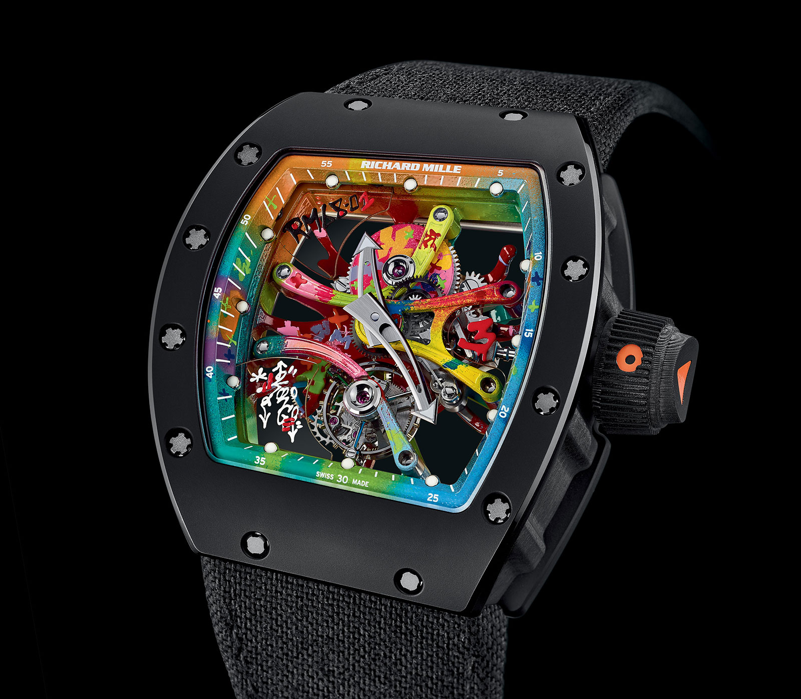 Richard Mille RM 68-01 Tourbillon Cyril Kongo 1