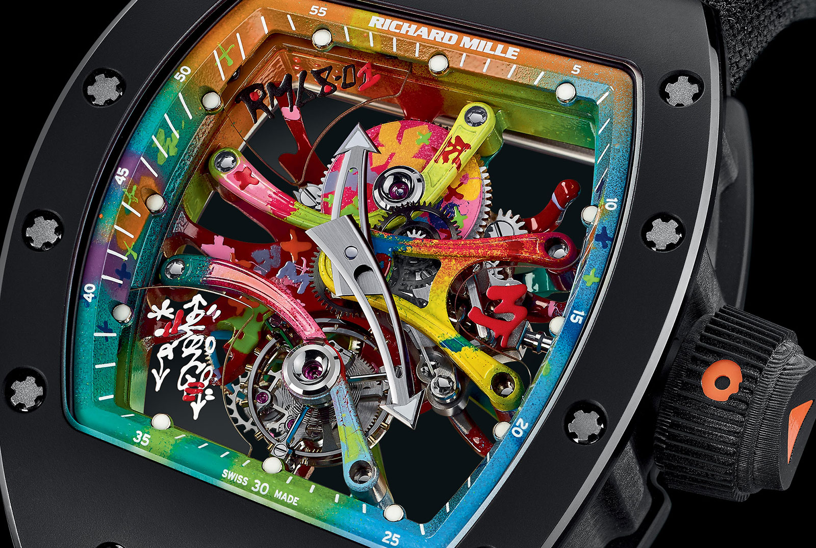Richard Mille RM 68-01 Tourbillon Cyril Kongo 2