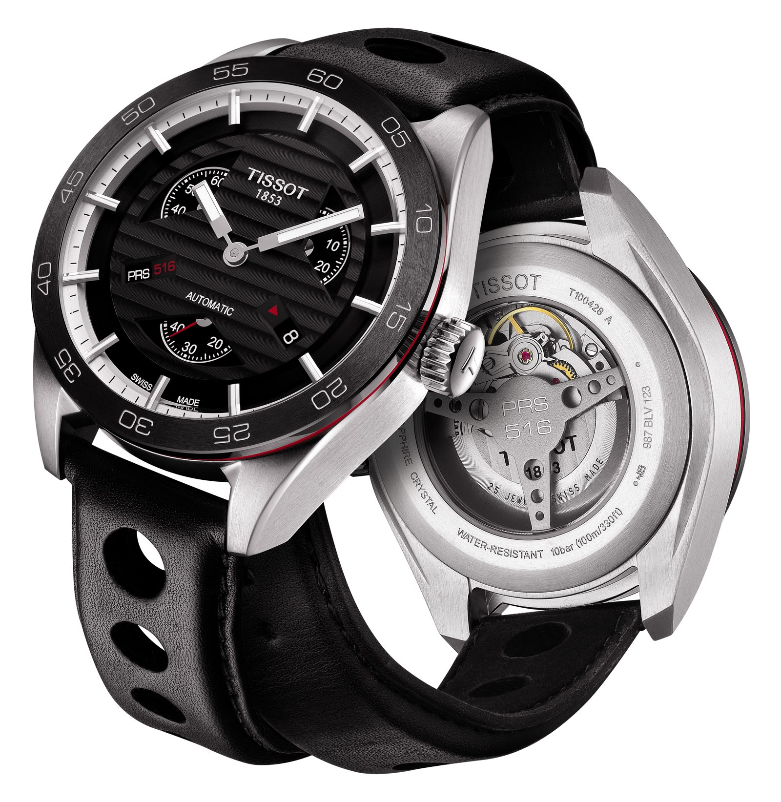 Tissot PRS 516 Automatic Small Triple Second 3