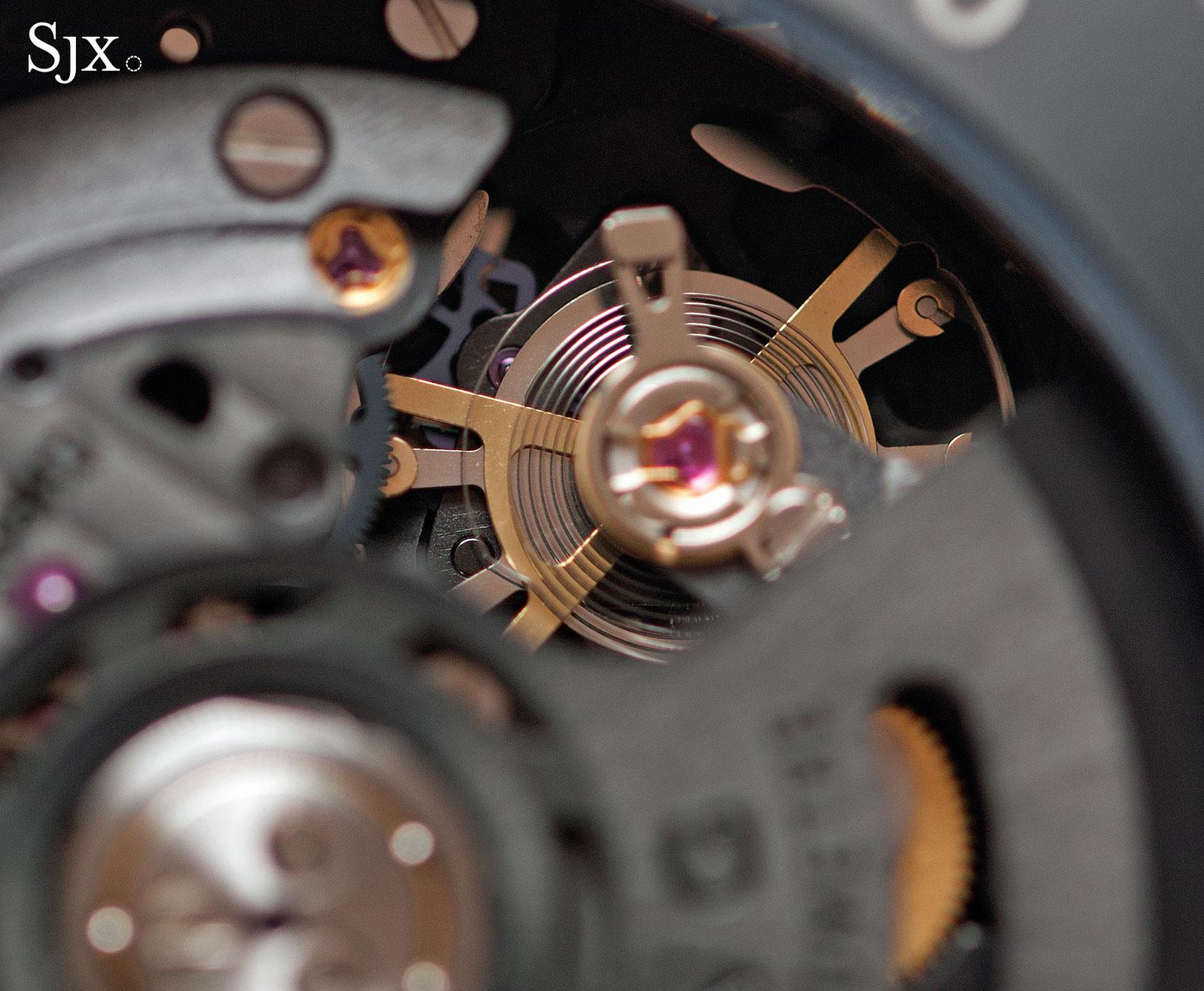 Breitling Chronoworks balance wheel