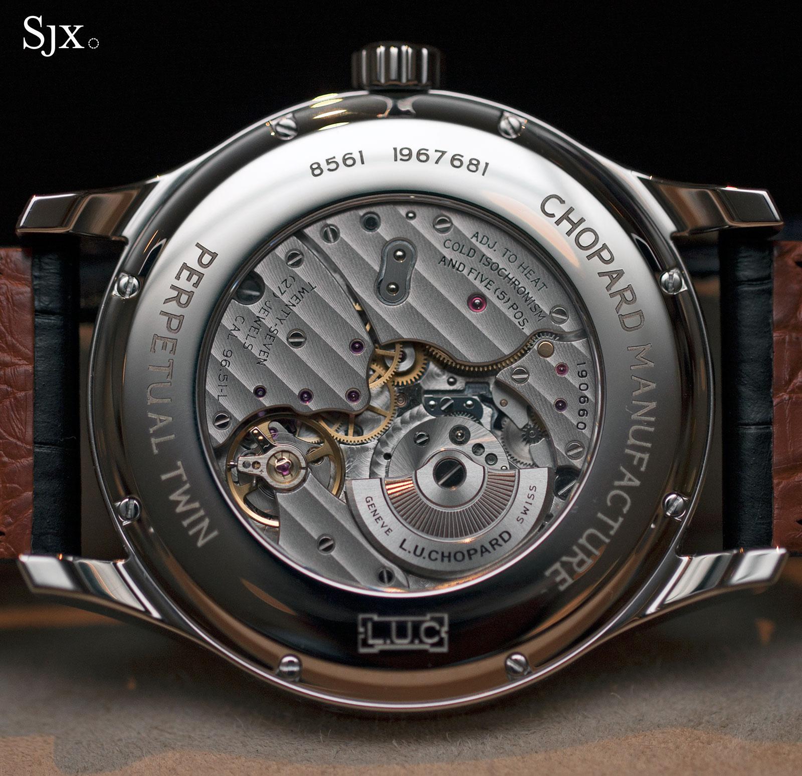 Chopard L.U.C Perpetual Twin steel perpetual calendar 1