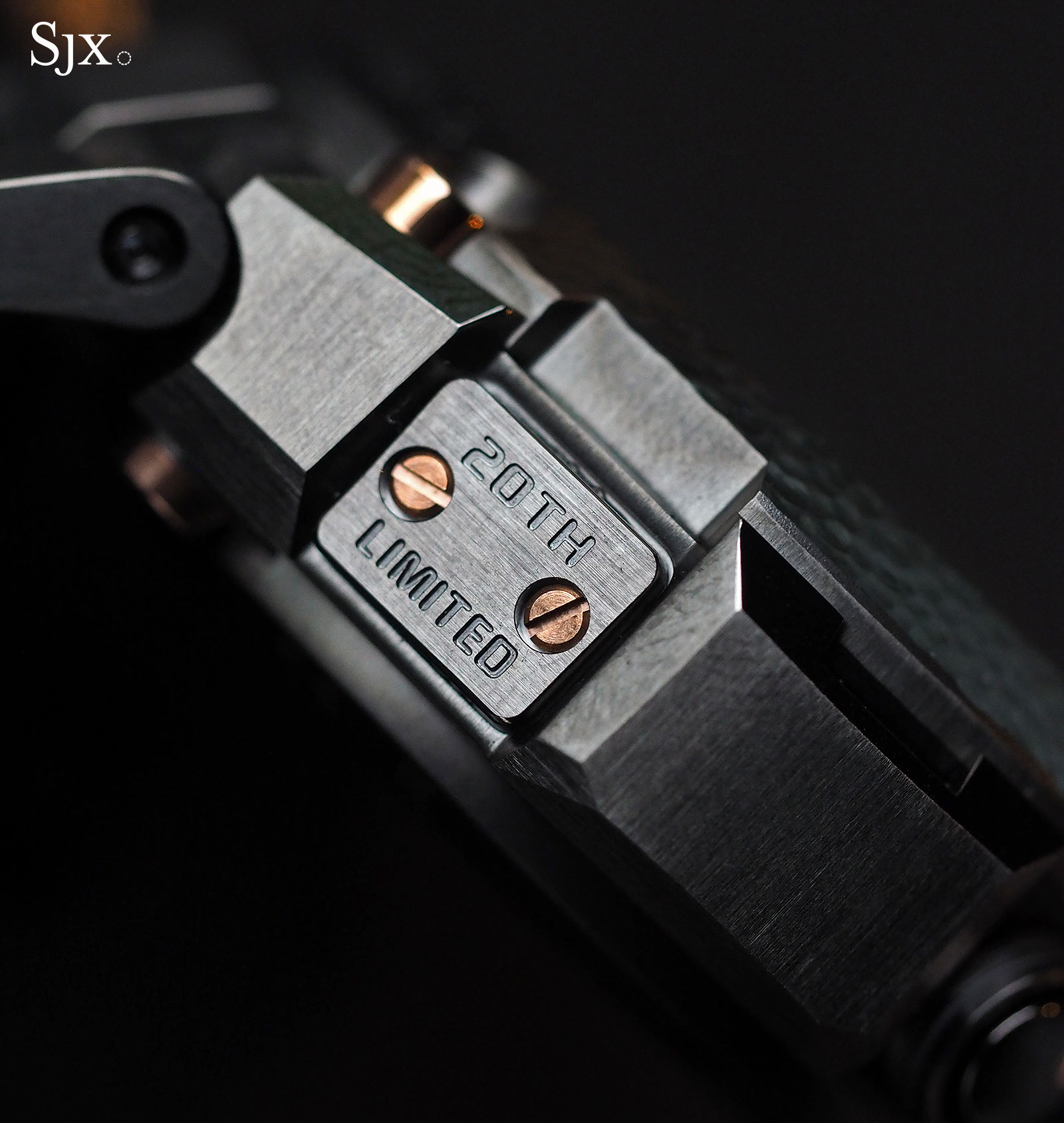 G-Shock MR-G 20th Anniversary Hammer Tone 6