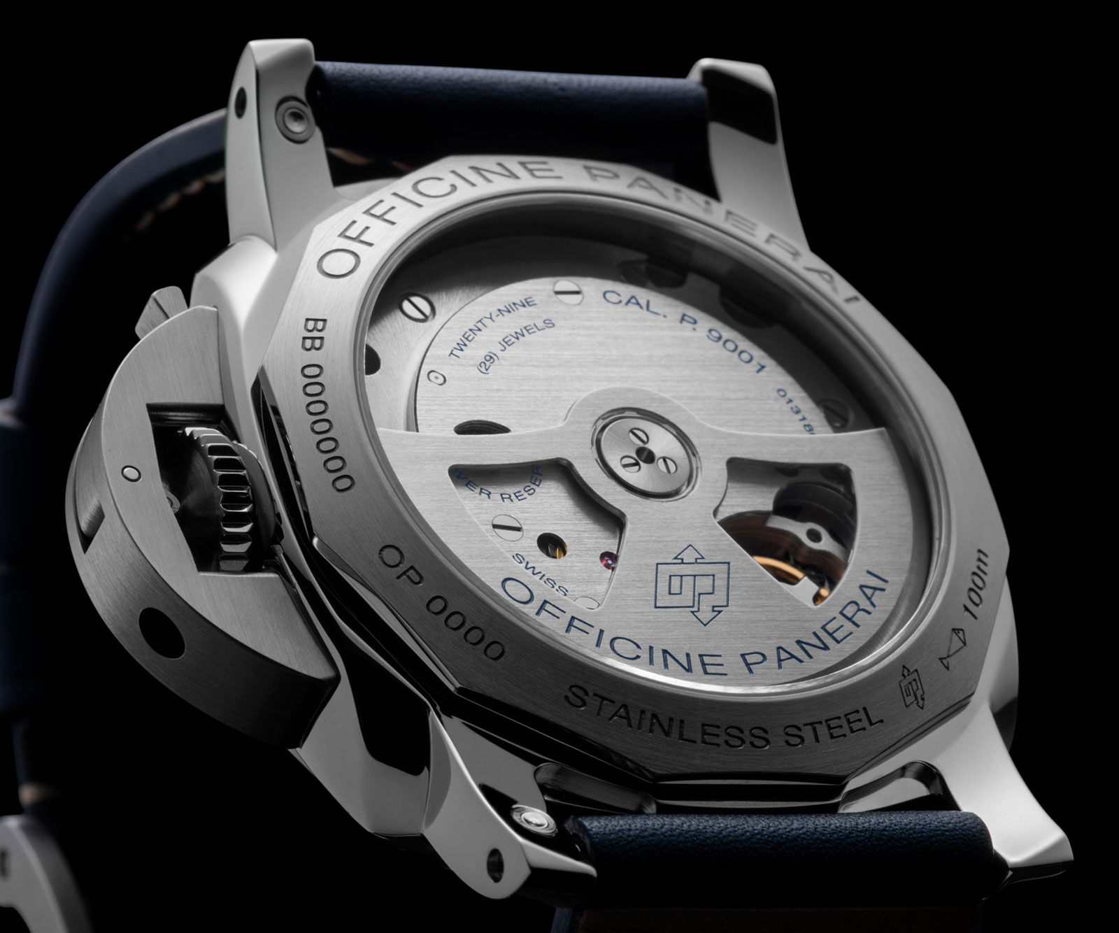 Panerai Luminor 1950 3 Days GMT Automatic (PAM00688) back
