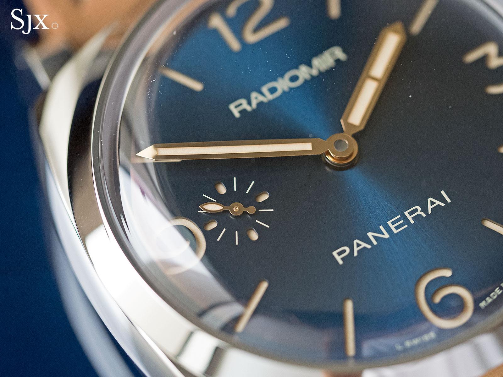 Panerai Radiomir 1940 Blue Dial PAM690 - 2