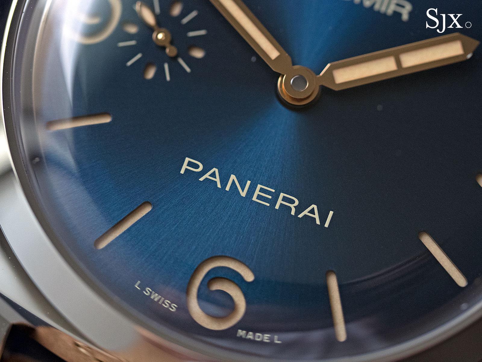 Panerai Radiomir 1940 Blue Dial PAM690 - 4