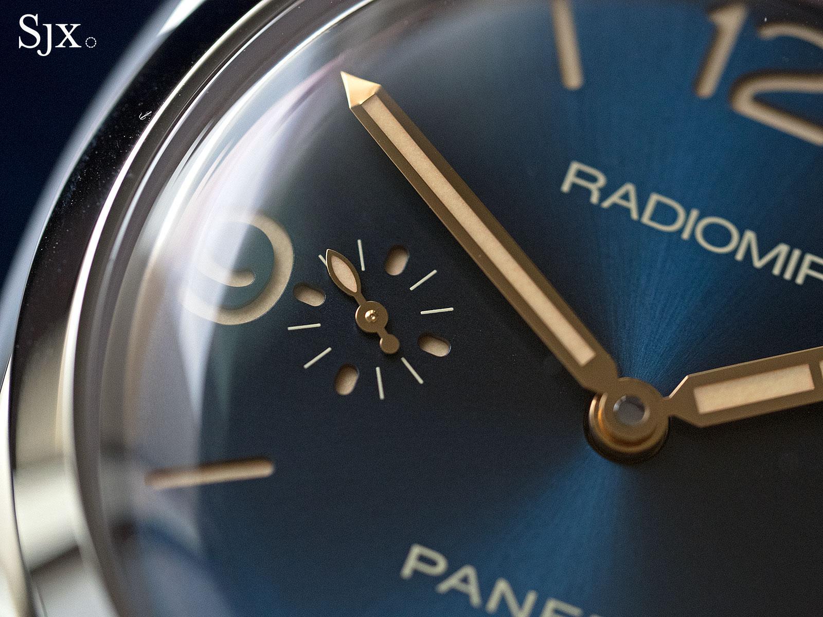 Panerai Radiomir 1940 Blue Dial PAM690 - 5