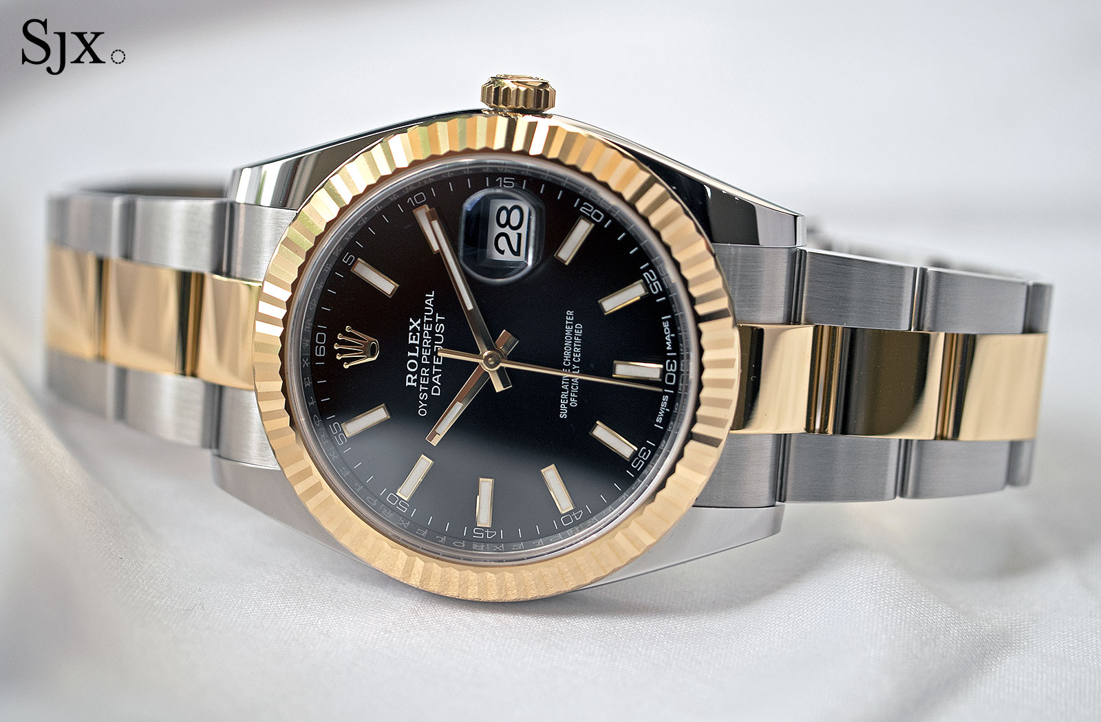 Hands-On with the Rolex Datejust 41 Rolesor