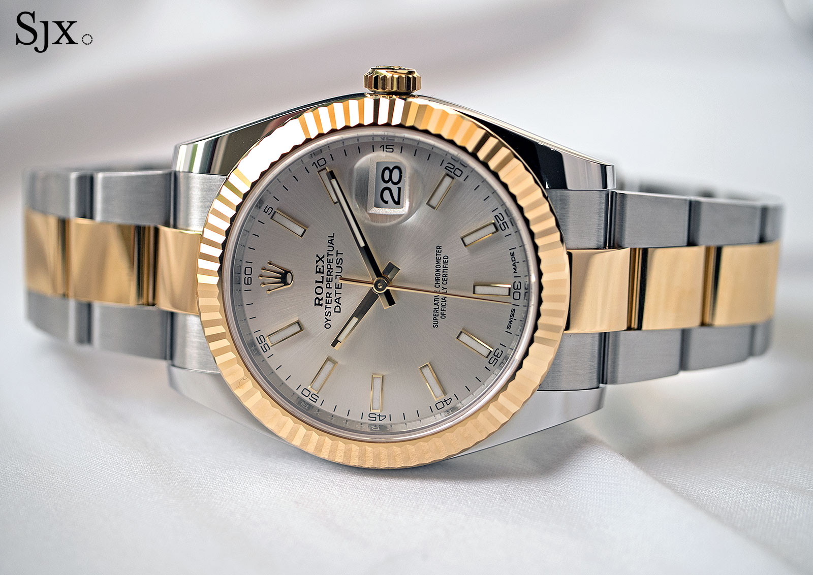 Rolex Datejust 41 Rolesor two-tone 6