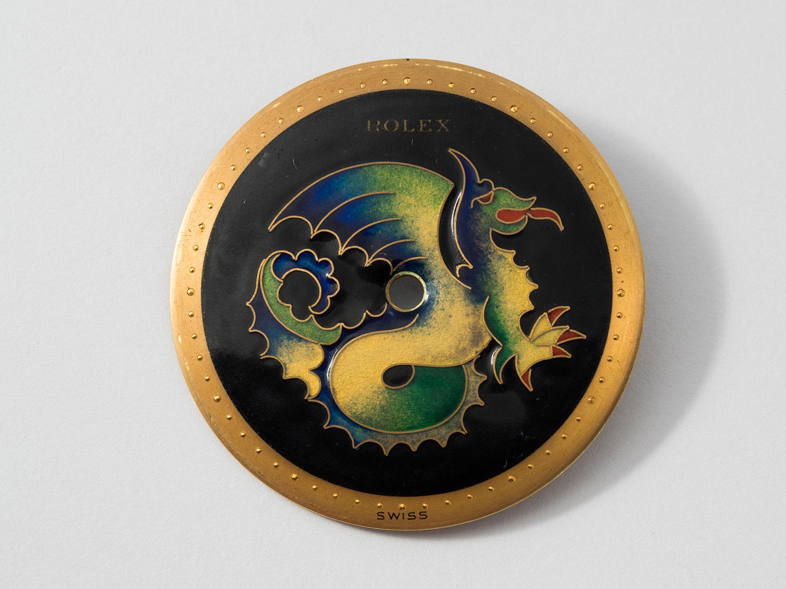 Rolex ref. 8651 cloisonné chimera Stern Freres 2