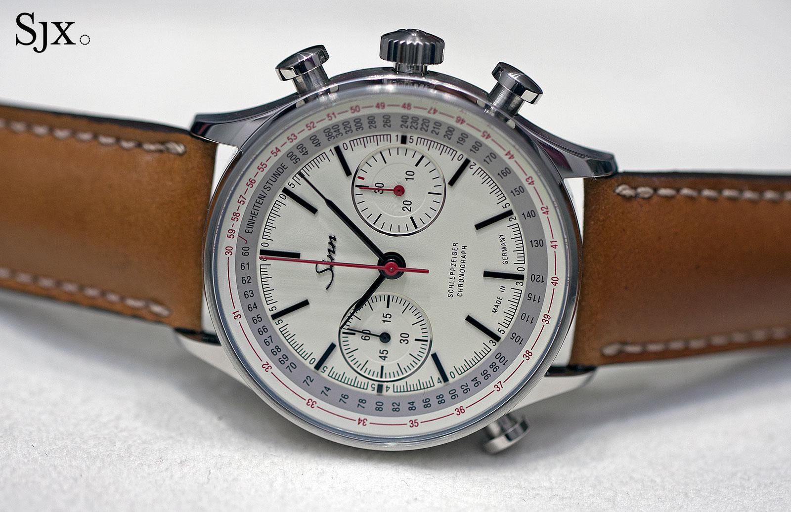 Sinn 910 Anniversary split-seconds chronograph 1