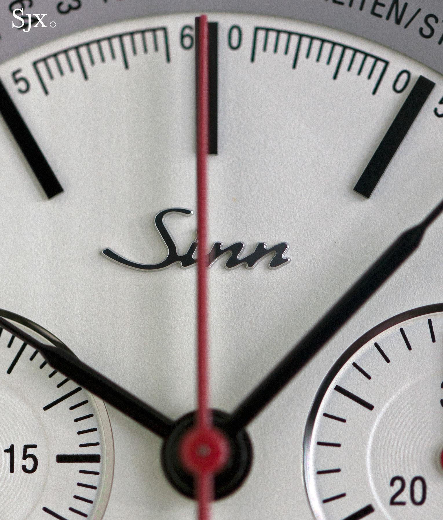 Sinn 910 Anniversary split-seconds chronograph 3