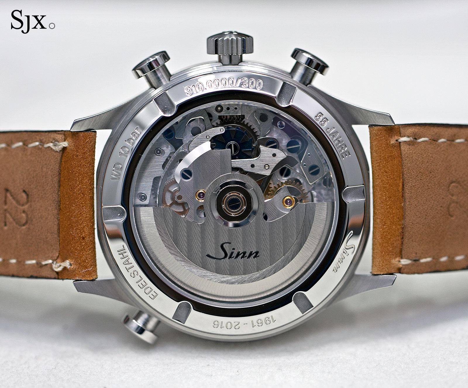 Sinn 910 Anniversary split-seconds chronograph 8