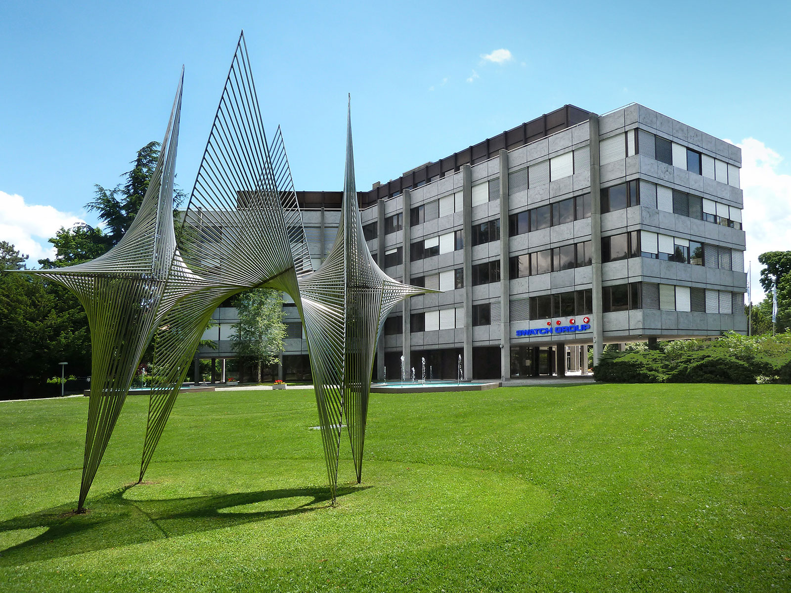 Swatch Group headquarters in Biel