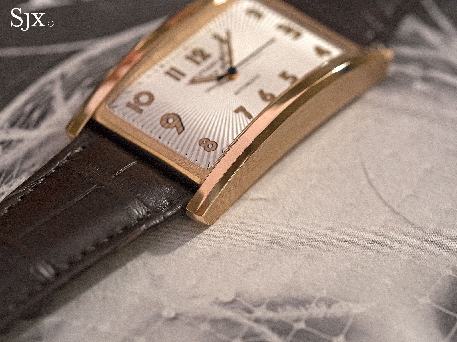 Tiffany & Co. East West Automatic rose gold 2