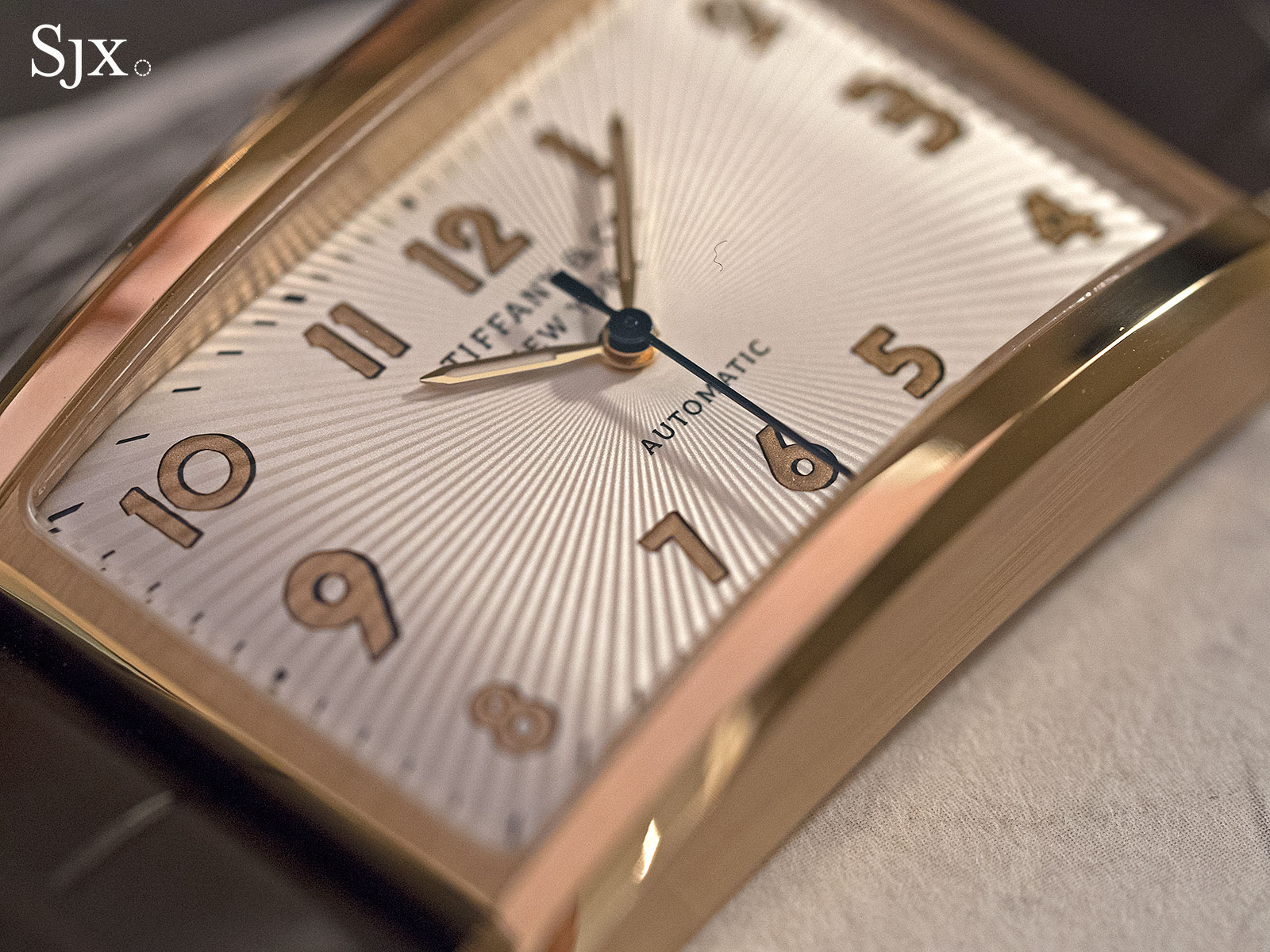 Tiffany & Co. East West Automatic rose gold 3