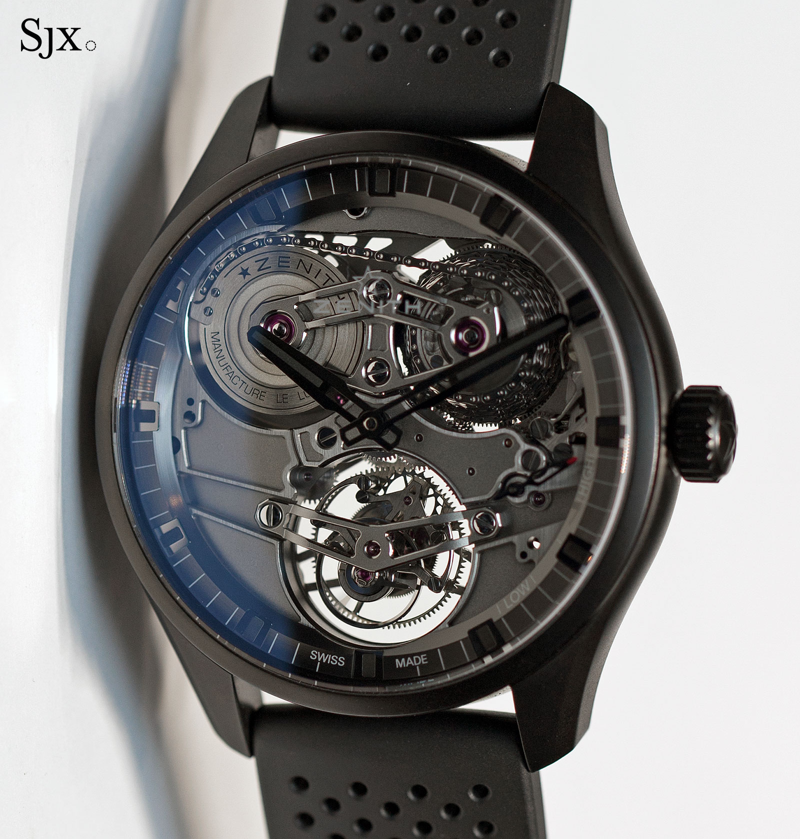 Zenith Academy Georges Favre-Jacot Tourbillon ceramic 1