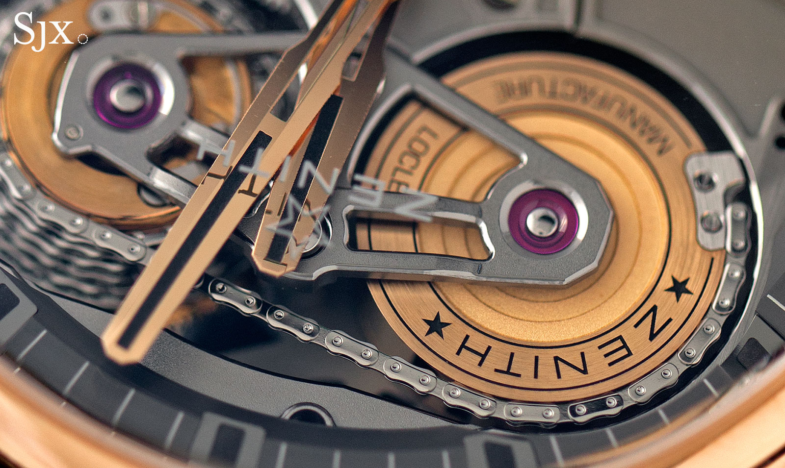 Zenith Academy Georges Favre-Jacot Tourbillon rose gold 5