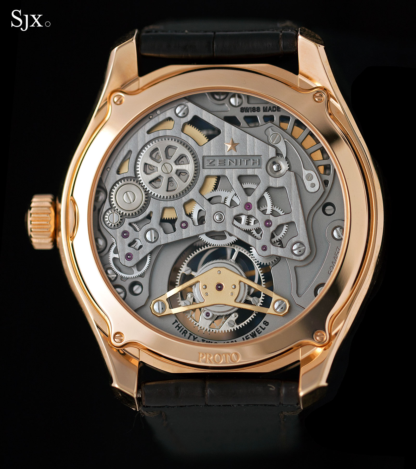Zenith Academy Georges Favre-Jacot Tourbillon rose gold 6
