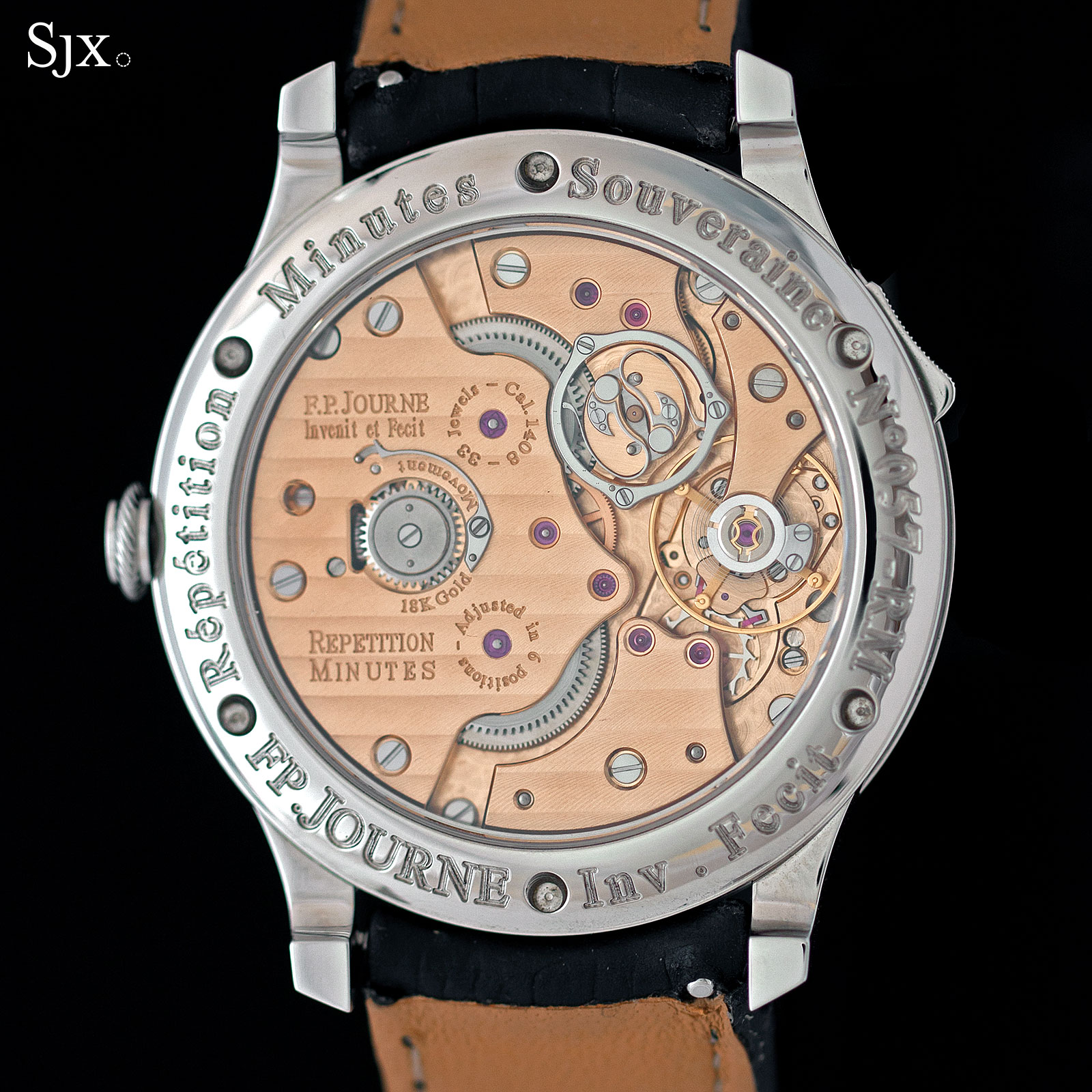 F.P. Journe Souveraine Minute Repeater 3