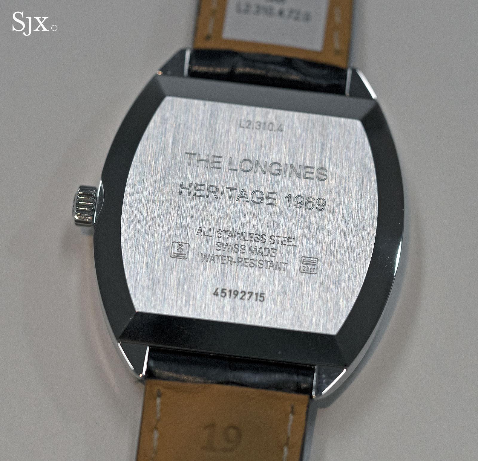 Longines Heritage 1969 steel 8